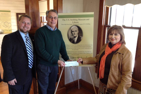 Donation to T.S. Stribling Library