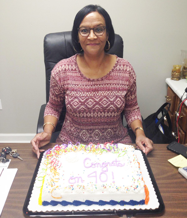 Barbara Culp celebrates 40 years with City of Clifton